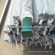 plastic coated fence post