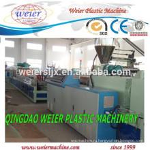 Пластиковые ПВХ WPC пены платы дверь Совет экструзионные линии