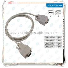 VGA / VGA Cable / RGB 15PIN Cable / SVGA Cable / Equipo MONITOR CABLE M / M para CRT Monitor LCD