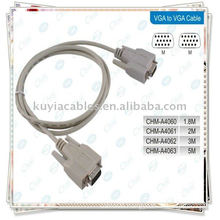 VGA/ VGA Cable/RGB 15PIN Cable/SVGA Cable /Computer MONITOR CABLE M/M for CRT LCD Monitor