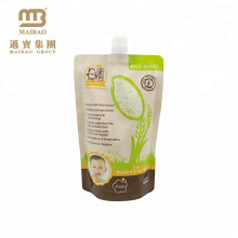 Melhor Qualidade BPA Livre Grau Alimentar Personalizado Caseiro Diy Reutilizável Sacos De Armazenamento Do Alimento Do Bebê
