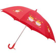 Paraguas rojo abierto manual del niño (BD-61)