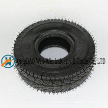 Roda de borracha pneumática para carrinho de mão 4.10 / 3.50-4
