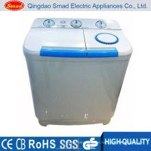 lavadora de tina gemela semi-auto casera