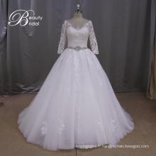 Robe de mariée a-ligne appliqued prix raisonnable