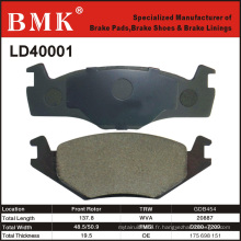 Plaquette de frein de qualité Aanced pour Volkswagen (D40001)