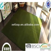 tapete de vison tapete de microfibra tapete de carpete longo 100% poliéster esteira de entrada lavável