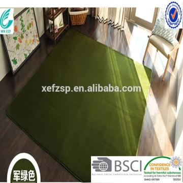 tapis de vison tapis de tapis de microfiber tapis long tapis 100% polyester tapis d'entrée lavable à la machine