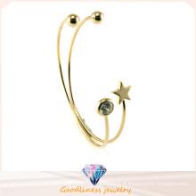 Bijoux en cristal et bijoux en argent et bracelet en argent (G41329)