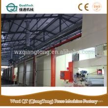 Línea de impregnación de papel de impresión de 4 pies / línea de impregnación de papel kraft HPL