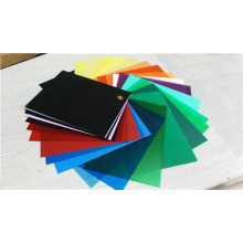 Green Color Transparent PVC Rigid Sheet for Box Case Packing