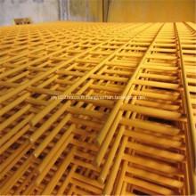 Panneau de treillis métallique soudé enduit de PVC