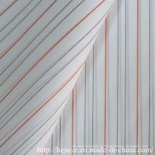 Doublure teintée de fil
