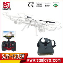 New toys Support VR Glasses RC Quadcopter SKY PHANTOM 1332 UFO Wifi FPV 0.3MP Camera rc Drone SJY-1332W