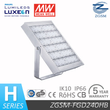 240W LED Floodlight with Super Brightness, Excellent Heatsink and CE RoHS UL Dlc