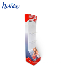 Store Retail Underwear Rack Cardboard Floor Underwear Display Stand