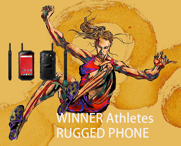 WINNER Athletes RUGGED PHONE