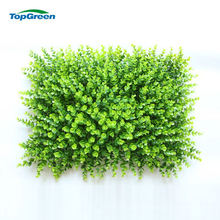 Plastic Landscape Green Wall For Deco