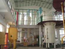 Cooking oil solvent extraction machine for sale