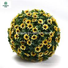 Künstlicher hängender Blumenball der unterschiedlichen Farbe für Gartendekor