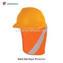 100% Polyester 3M Hi Viz Safety Depot Hard Hat Accessories High Visibility Reflective Neck Sun Shade ANSI