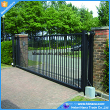 Yard main entrance gate designs / sliding aluminum gates / Tubular Gate