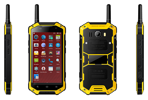IP68 Standard Walkie Talkie Mobile Handset