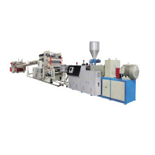 Plastic PVC Foam Sheet Plate Extrusion Production Line
