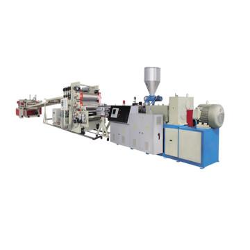Plastic PVC Foam Sheet Plate Extrusion Production Line