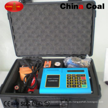 Medidor de flujo de medición de agua líquida ultrasónico portátil Tuf-2000p