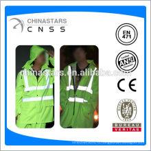 Привет vis to raincoat, отражательный плащ, плащ безопасности
