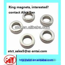 Hohe Qualität Ring Neodym-Magneten / Ring förmige Magnet
