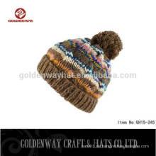 Taizhou strickte Pom Pom Beanie Hüte Großhandel