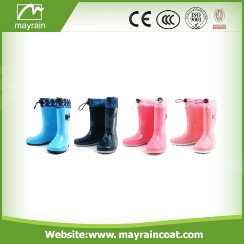 PVC OR Rubber Rain Boots