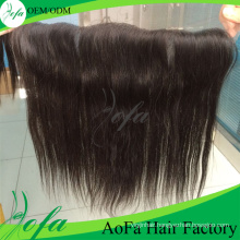 """13""""× 4"""" Brazilian Straight Remy Hair Lace Frontal"""