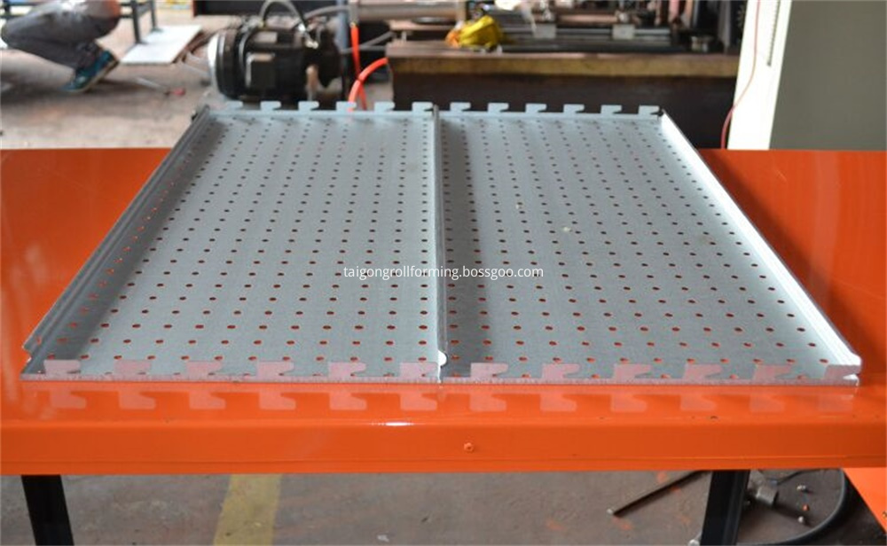 Rolling Shelving Sheet Metal Machine