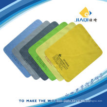 microfibre cleaning cloth with one color silk-screen printing