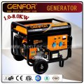 Hot Sale 100% Copper Wire 3.0 / 4.0 / 5.0 / 6.0 / 7.0 / 8.0kw Portable Power Industrial Gasoline Generator Alternateur