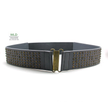Lady′s Elastic Fashion PU Belt (KY5900)