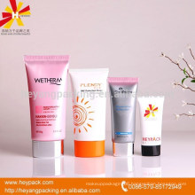plastic oval shape hand cream packaging tubes