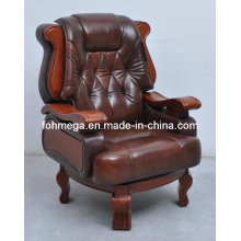 Boss Armlehne Bürostuhl, Luxus Leder Executive Büro Stuhl