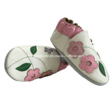 Zapatos de bebé de cuero suave transpirable