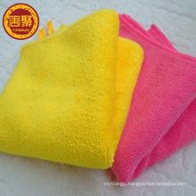 Super soft bright color printed face towel