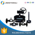 China supplier carbon steel double seal city ball float valve