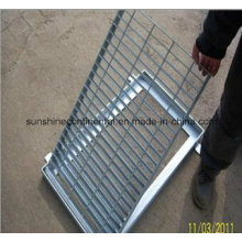 Drainage Gutter with Steel Grating Cover
