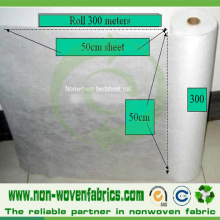 High Quality Perforated Nonwoven Roll for Examination Bedsheet