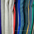 TC plain dyed polyester cotton blend workwear fabric