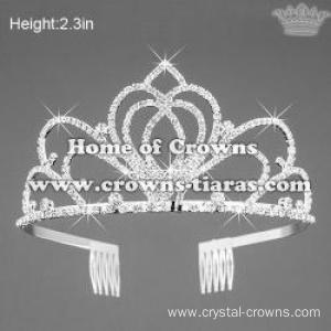 Clear Crystal Rhinestone Pageant Smart Crowns