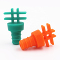 novelty christmas gifts silicone rubber wine bottle stopper