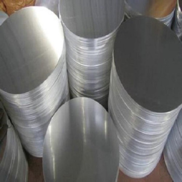 Pantalla redonda de aluminio para hornear, placa de lámpara, pantalla